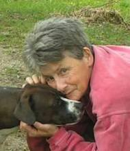 Jeanne Posner and her furbaby Annie